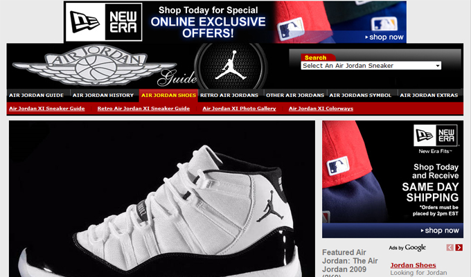 air jordans website