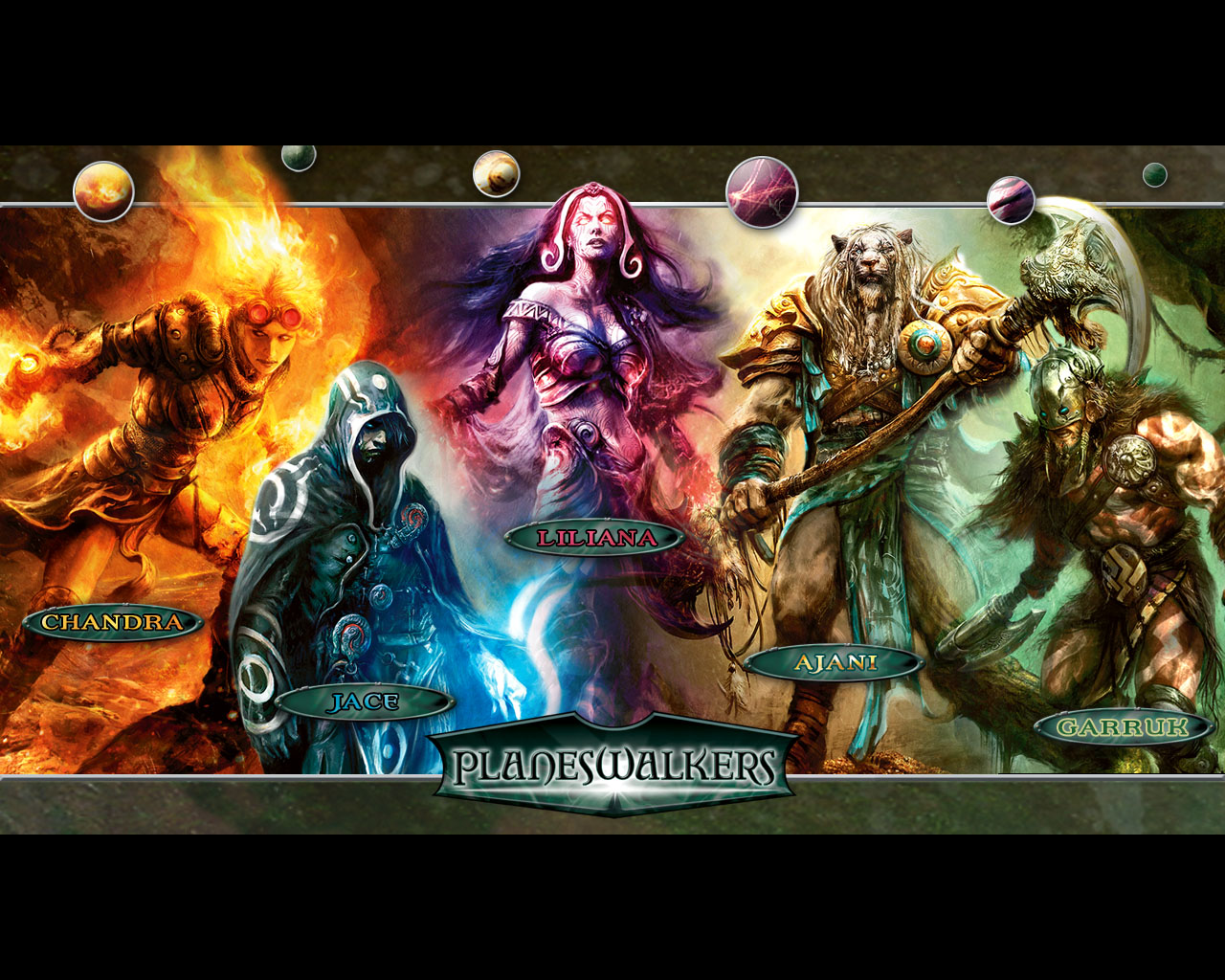Magic The Gathering Planeswalkers