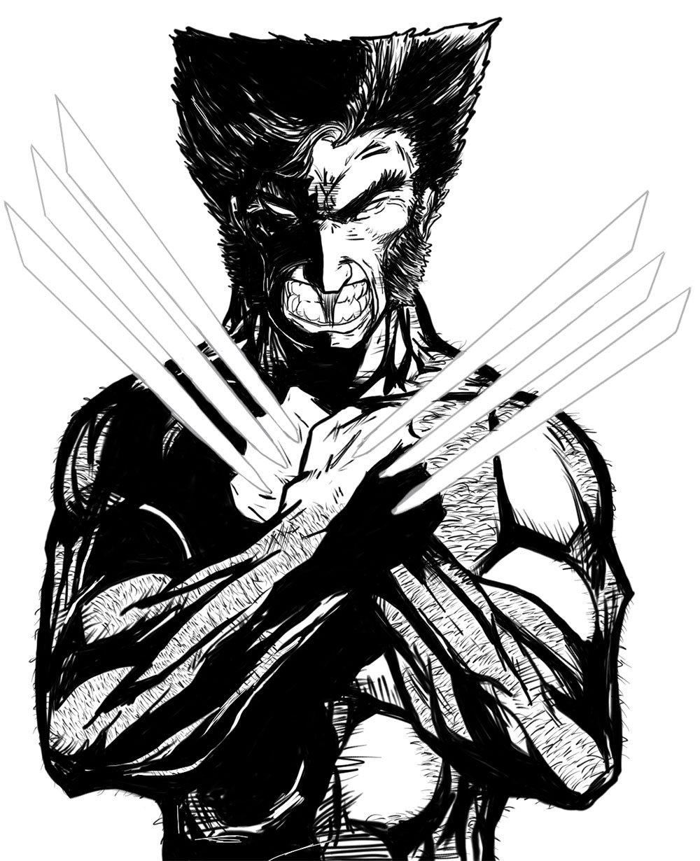 wolverine-shadows-black-and-white