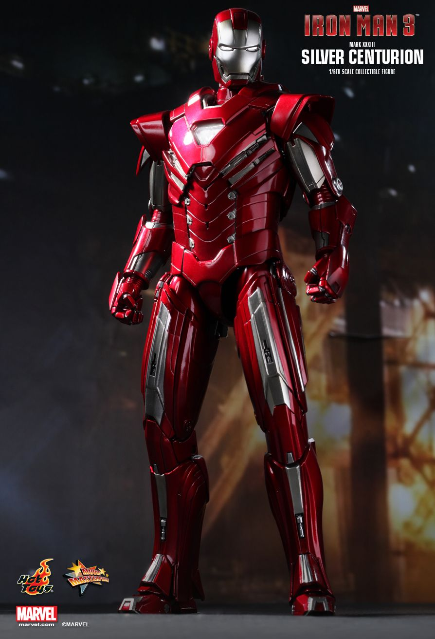 iron man mark xxxiii silver centurion by hot toys mifty is bored. Black Bedroom Furniture Sets. Home Design Ideas
