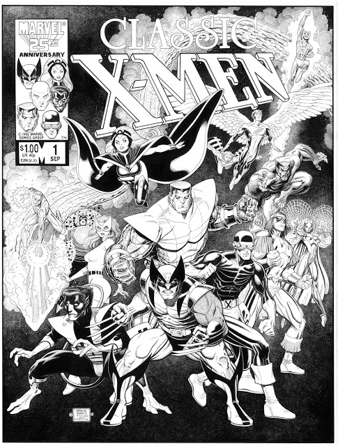 Arthur Adams - Classic X-Men final remastered 2012