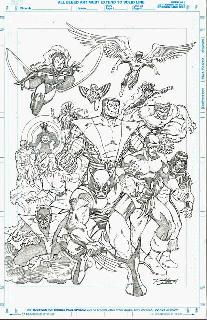 Ron Lim - Classic X-Men sketch