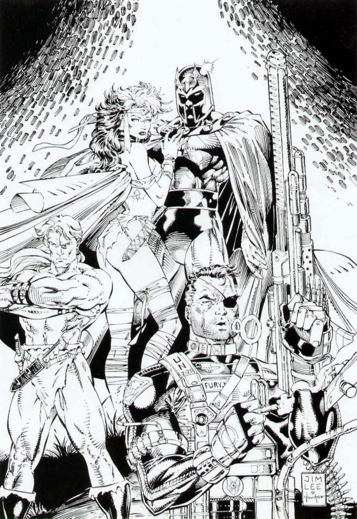 X-Men274 cover by Jim Lee