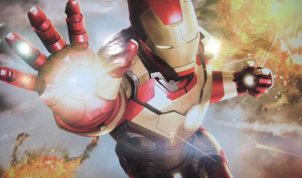 Iron Man 3 closeup