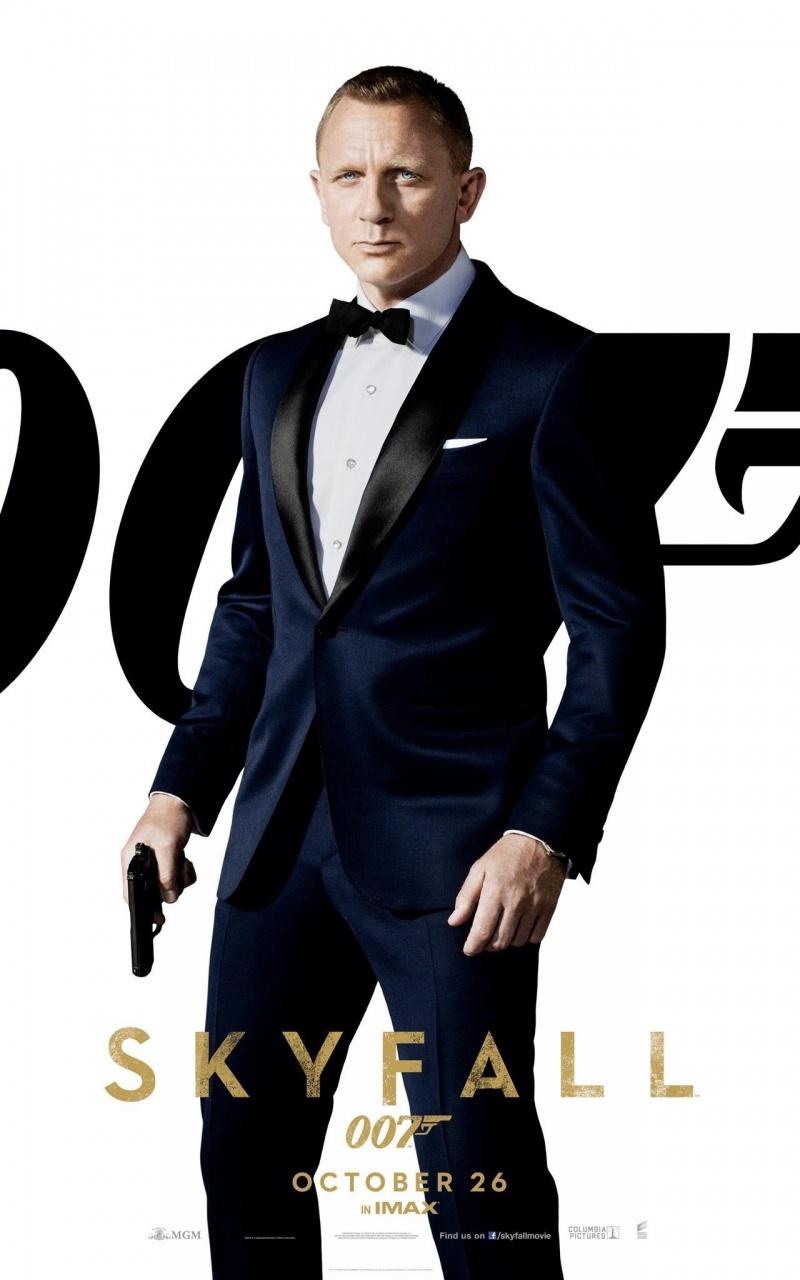007: SkyFall Poster