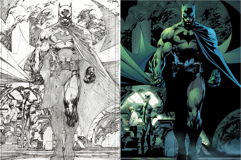 Jim Lee Artwork