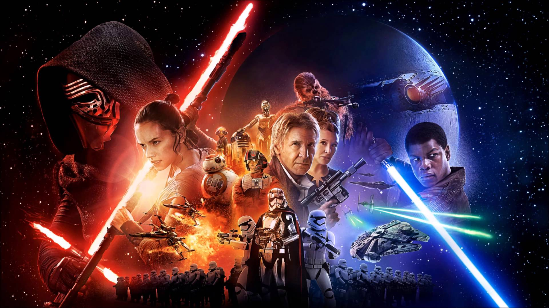 Image result for star wars the force awakens horizontal